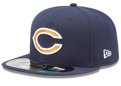 Chicago Bears NFL On Field 59FIFTY Hat 60D25